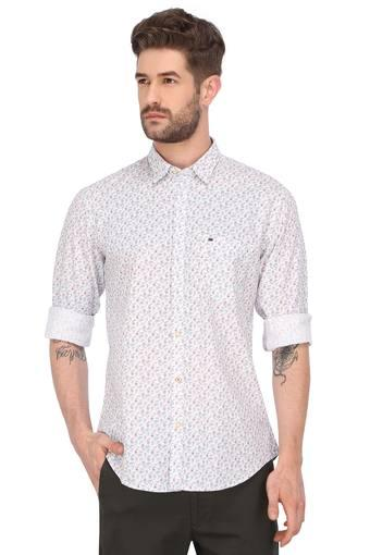 PETER ENGLAND -  Purple Mix Shirts - Main