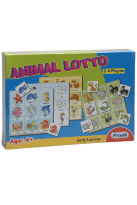 Buy board games for kids online shoppers stop x frank unisex early learner animal lotto board game gumiabroncs Images