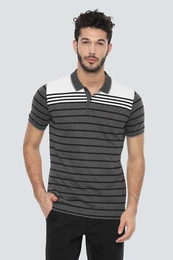 LOUIS PHILIPPE SPORTS -  Grey T-Shirts & Polos - Main