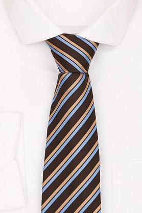 Mens Blended Stripe Tie