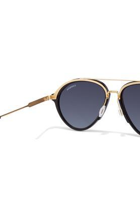 Unisex Full Rim Aviator Sunglasses - CAR125S6UB
