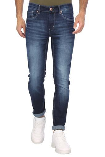 NUMERO UNO -  Denim Black Stonewash Jeans - Main