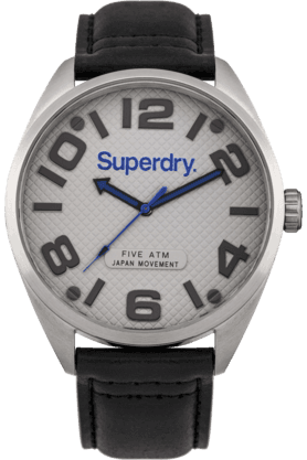 SUPERDRYMens Round Dial Military Watch- SYG192BS