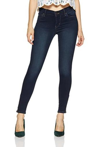 LEVIS -  Dark Blue Jeans & Leggings - Main
