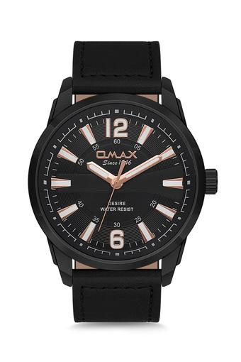 Mens Desire Black Dial PU Analogue Watch - FA9-GX29M22O