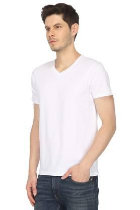 STOP - WhiteT-Shirts & Polos - 2