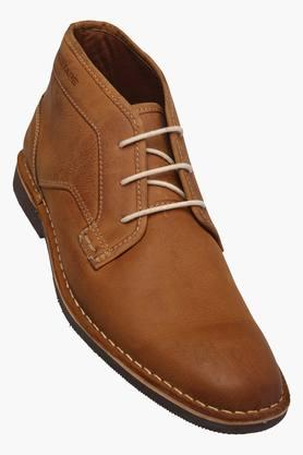 RED TAPE Mens Leather Lace Up Casual Shoe