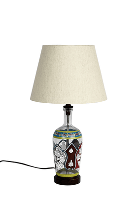ADARA Indi Glass Painted Lamp