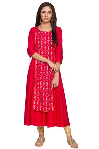AURELIA -  Shocking Pink Kurtas - Main