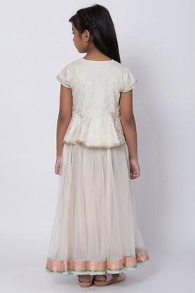 BIBA GIRLS - Off White Indianwear - 1