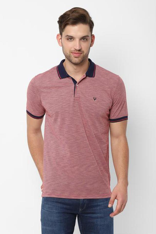 ALLEN SOLLY - RedT-Shirts & Polos - Main