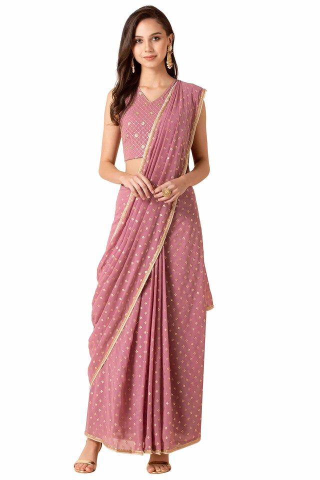INDYA - PinkWomen Ethnic Wear - Main