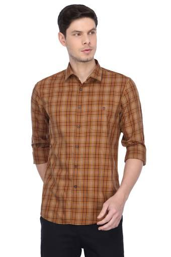 LOUIS PHILIPPE SPORTS -  Brown Casual Shirts - Main