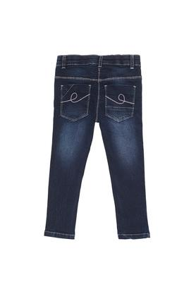 Boys Slim Fit Heavy Wash Jeans