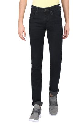 Mens Slim Fit Rinse Wash Jeans