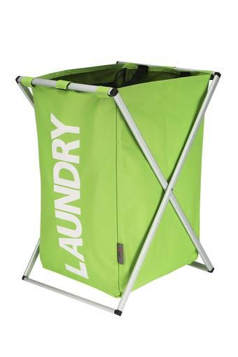 SPREAD -  Lime Green Laundry Baskets - Main