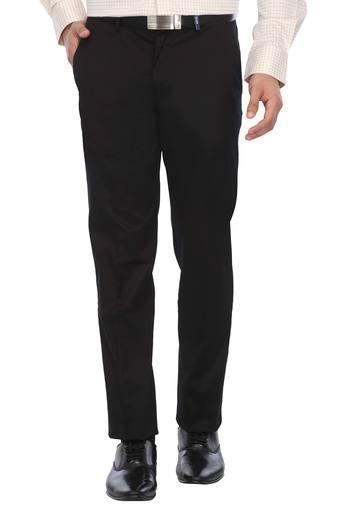 LOUIS PHILIPPE -  BlackCargos & Trousers - Main