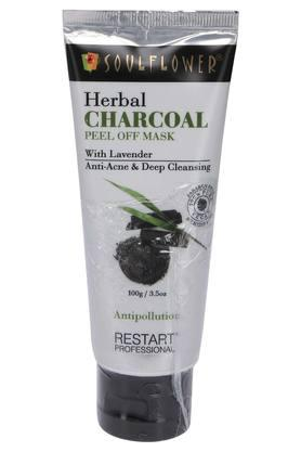 Herbal Charcoal Peel Off Face Mask - 100 g