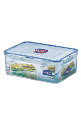 LOCK & LOCK Classics Rectangular Food Container With Divider - 2.6 Litres
