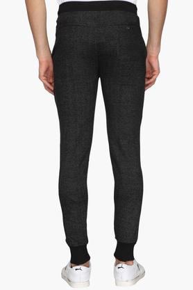 Mens Regular Fit 3 Pocket Slub Track Pants (Dynamic Fit)