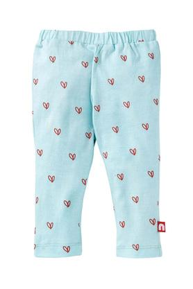 Girls Printed and Solid Leggings - Pack of 2