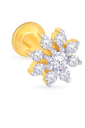 MALABAR GOLD AND DIAMONDSWomens Diamond Nosepin UINSP00173B