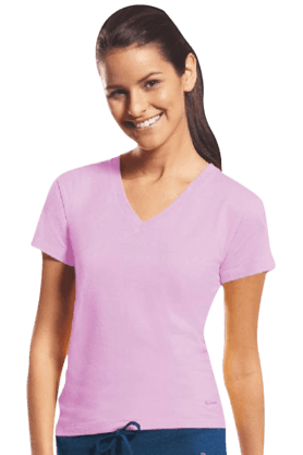 Women Cotton V-Neck T-Shirt