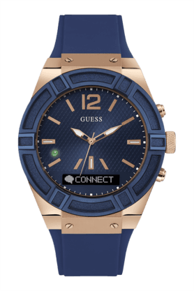 Connect Mens Blue SmartWatch- C0001G1 (Free power bank)
