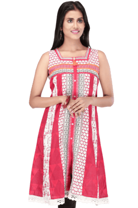STOP Women Cotton Kurta - 9861753