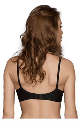 Cotton Rich T Shirt Bra With Cross-Over Moulded Cups