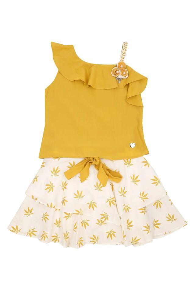 TINY GIRL - MustardCo-ordinates - Main