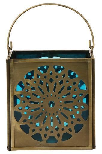 IVY -  TurquoiseCandles & Candle Stands - Main