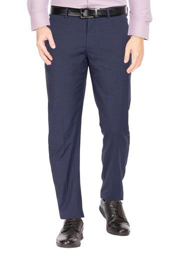LOUIS PHILIPPE -  Navy Cargos & Trousers - Main
