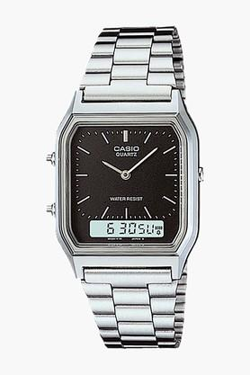CASIO Youth Series Mens Stainless Steel Analogue-digital Watch - AQ-230A-1DMQ (AD01)