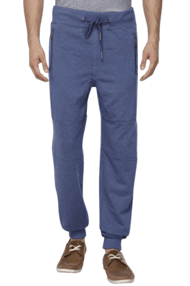 CELIO Mens 4 Pocket Solid Track Pants