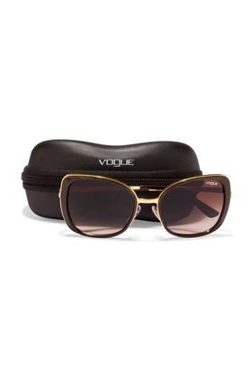 Womens DU Oversized Polycarbonate Sunglasses - DU VO3990