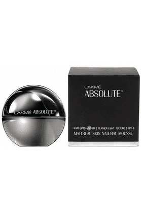 LAKME Absolute Mattreal Skin Natural Mousse - Almond Honey