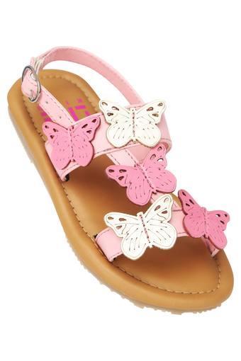 Girls Casual Wear Buckle Closure Sandals
