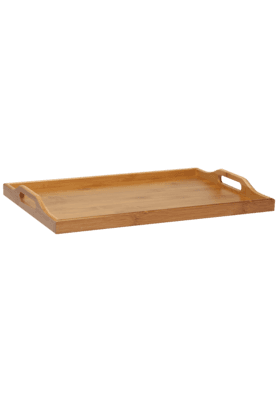 BACK TO EARTH Bamboo Tray - Large