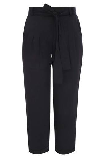 TINY GIRL -  BlackBottomwear - Main
