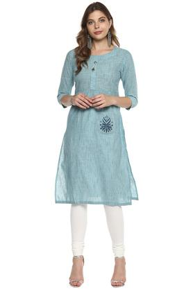 9d35532fdb X SOCH Womens Round Neck Embroidered Kurta. SOCH. Womens Round Neck  Embroidered Kurta .