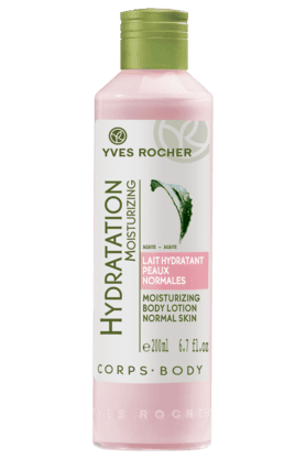 YVES ROCHER Hydratant Moisturizing Body Lotion Normal Skin 200ML