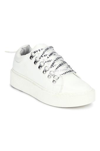 TRUFFLE COLLECTION -  WhiteCasuals Shoes - Main