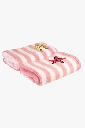 Kids Striped Hand Towel - Set of 2