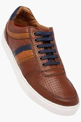 RUOSHMens Leather Lace Up Casual Shoes - 202640657