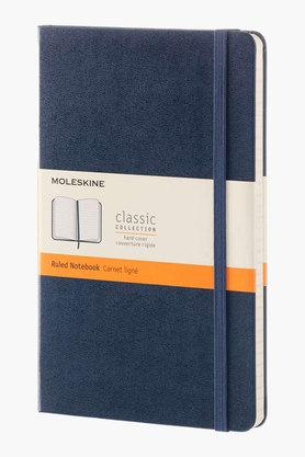 Moleskine Ruled Sapphire Blue Hard Cover Large Notebook