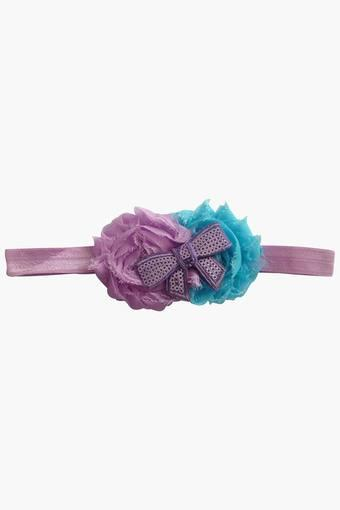 Girls Solid Corsage Headband (0 - 4 Years)