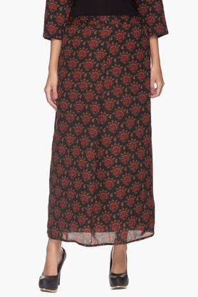 IMARA Womens Printed Long Skirt