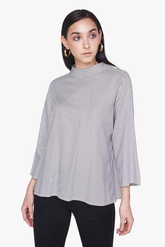 AND -  Grey Melange Tops & Tees - Main