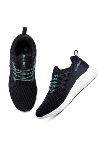 BACCA BUCCI -  Black Sports Shoes - Main